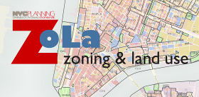 ZoLa - Zoning and Land Use Zoning Map Nyc on