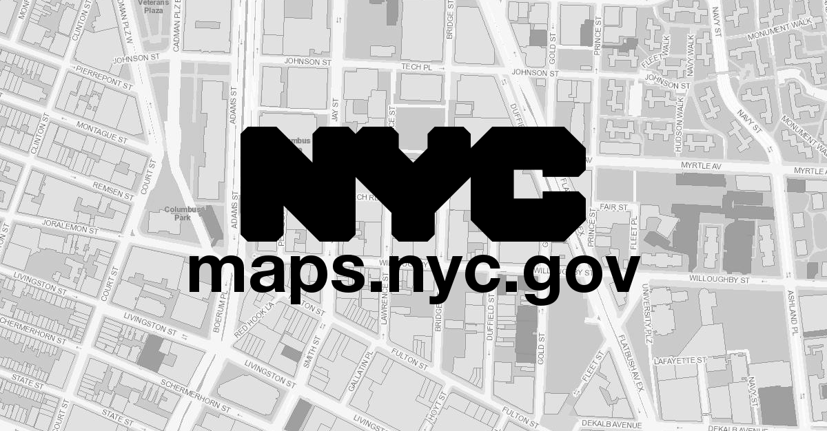 Map Of New York District Courts.Nycitymap Doitt City Wide Gis