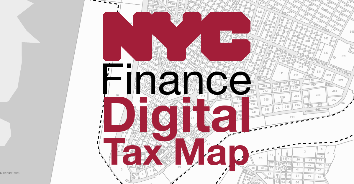 Digital Tax Map Main Menu New York City Department Of Finance - Property tax map us 2016